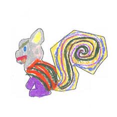 奇幻森林-松鼠