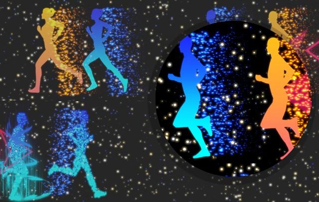 互动跑步 如影随形