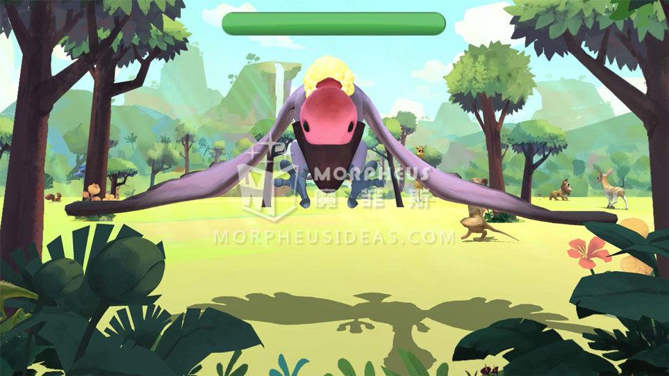 遊戲中大反派大禿鷹需要趕跑
