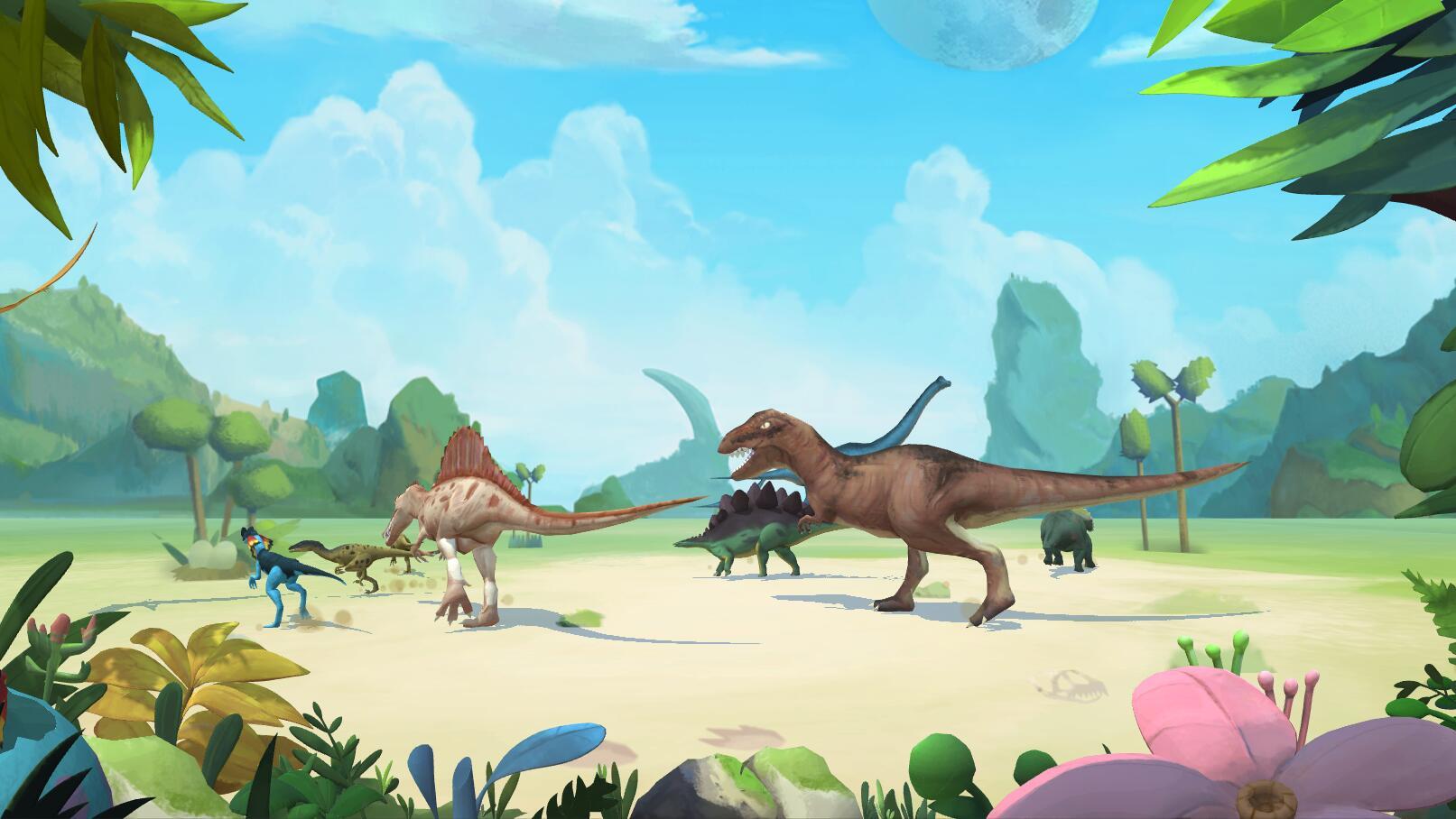 涂鸦乐园恐龙系列