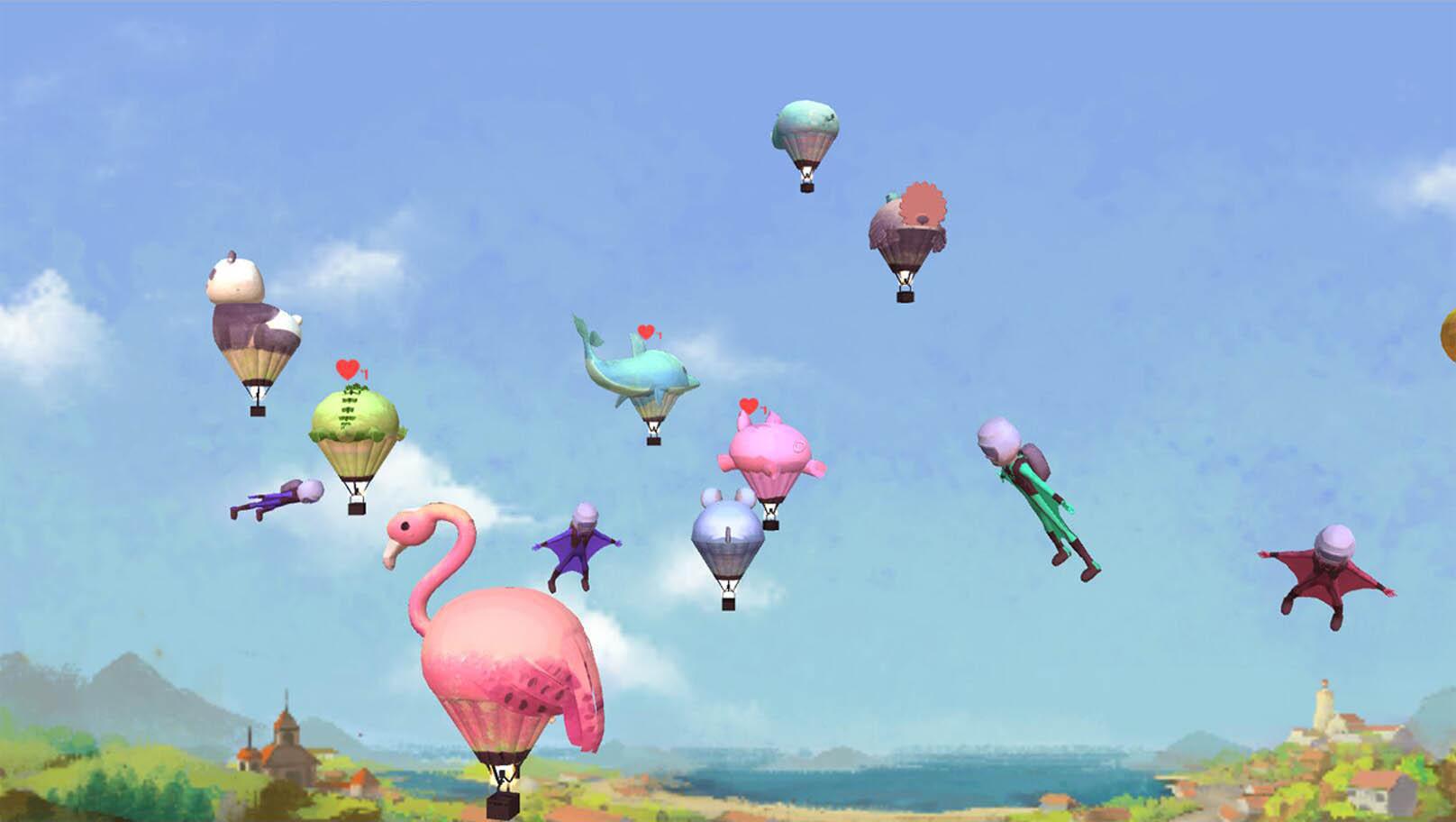 塗鴉樂園天空系列