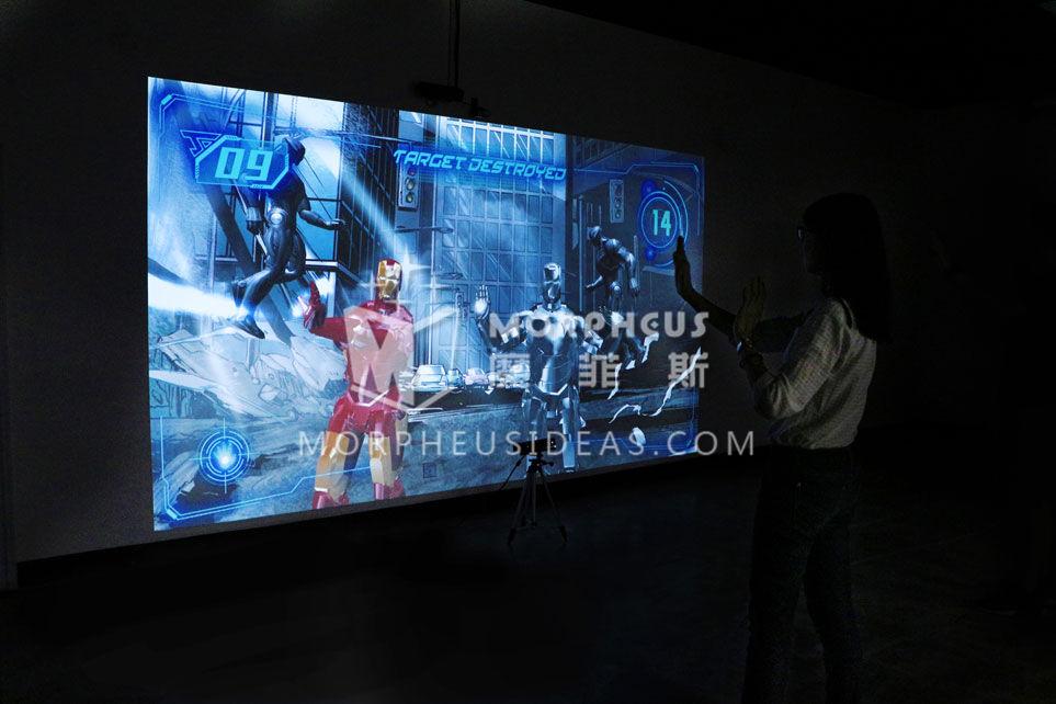 IRONMAN游戏通过体感技术获取玩家的动作