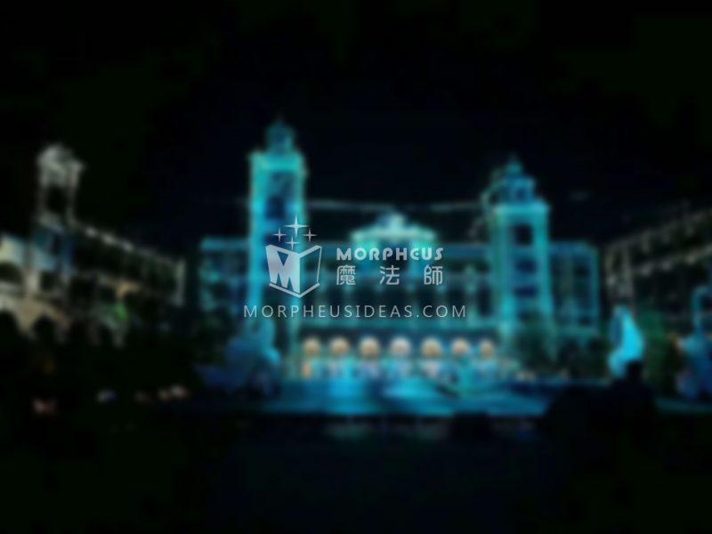 【優秀案例分享】大連國際沙灘文化節樓體投影燈光秀