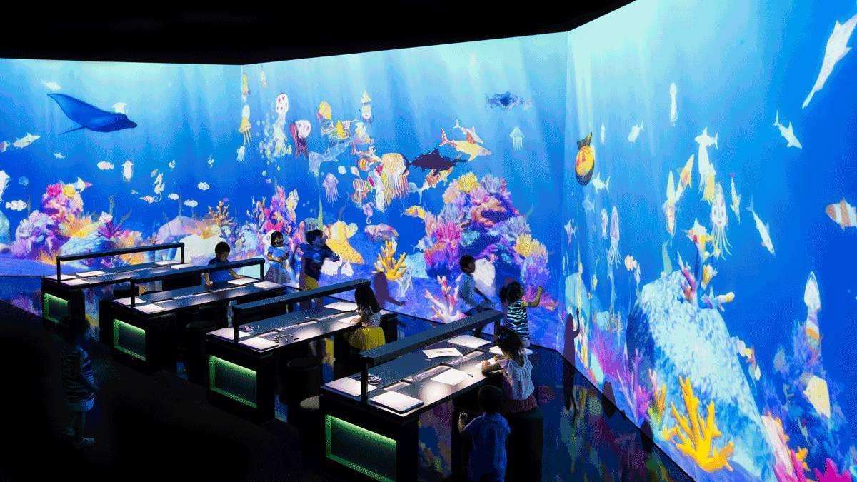 虛擬水族館