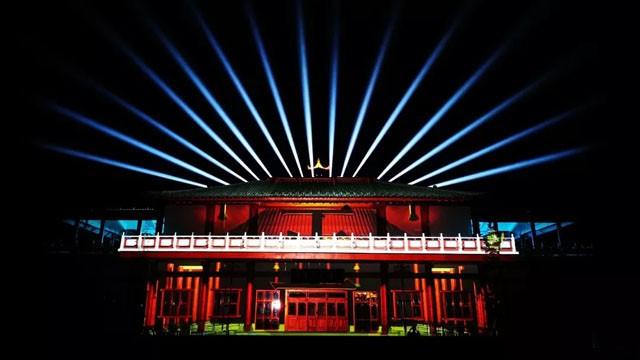 曾鞏文化園光影秀詮釋南豐獨有魅力文化